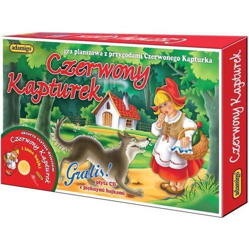 Czerwony Kapturek Gra planszowa z płytą CD z kategorii Gry planszowe