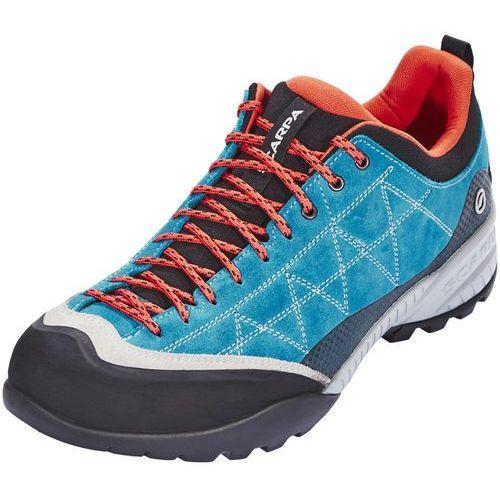 zen pro buty mężczyźni pomarańczowy/niebieski 45,5 2018 buty podejściowe marki Scarpa