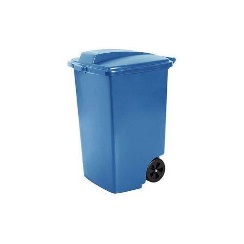 Kosz zewnętrzny na śmieci 100L Curver niebieski, CUR235962