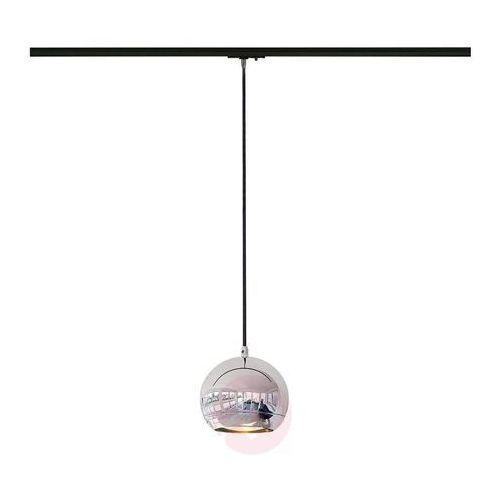 LIGHT EYE lampa wisząca chrom, GU10, maks. 75W, z adapterem 1-fazowym