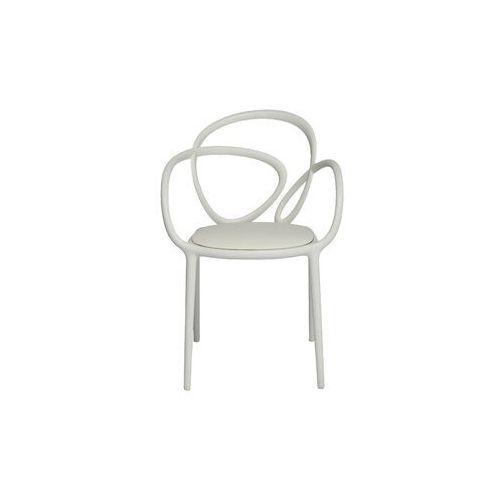 QeeBoo Krzesło Loop z poduszką białe - 2 szt. 30002WH, 30002WH