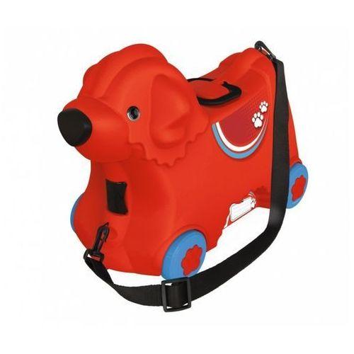 BIG Jeżdżąca walizka Jeździk Bobby Trolley Czerwona, LEK-5291