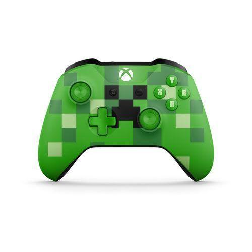 Kontroler MICROSOFT XBOX ONE Minecraft Creeper + Zamów z DOSTAWĄ JUTRO! + DARMOWY TRANSPORT!