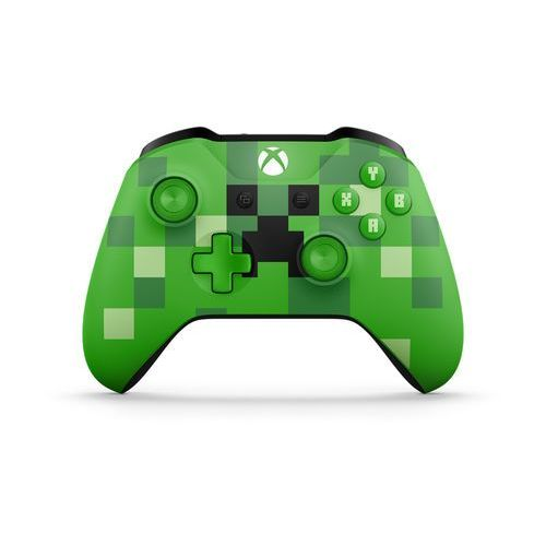 Kontroler MICROSOFT XBOX ONE S Minecraft Creeper + Zamów z DOSTAWĄ JUTRO! + DARMOWY TRANSPORT!