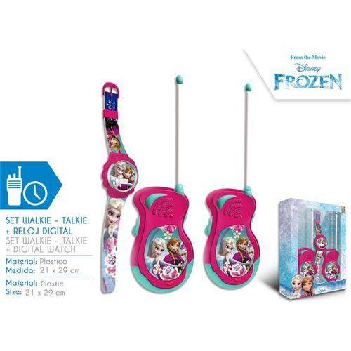 Euroswan Walkie - talkie + zegarek na rękę frozen - kraina lodu