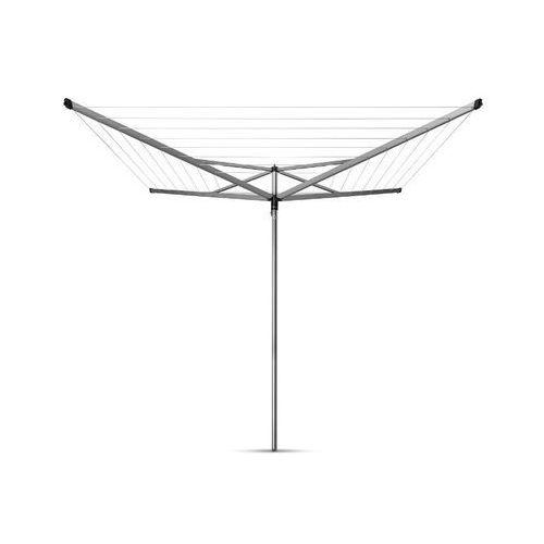 Brabantia - suszarka ogrodowa compact - 50m, 4 ramiona - mocowanie z tworzywa (do betonu)