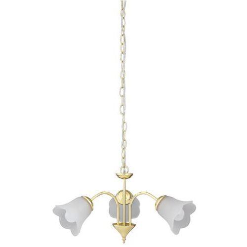 Rabalux Lampa wisząca rafaella 3x40w e14 złota 7233