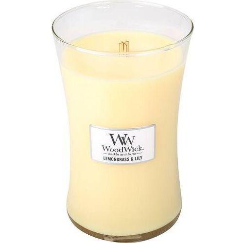 Świeca Core WoodWick Lemongrass & Lilly duża