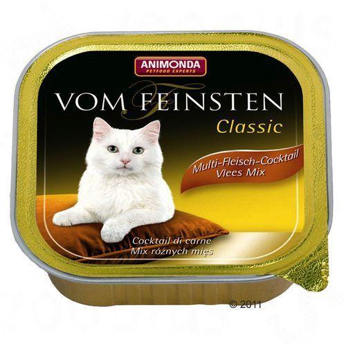 ANIMONDA Vom Feinsten Classic Cat smak: wołowina i serca z indyka 100g