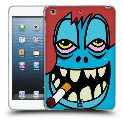 Etui silikonowe na tablet - Ugly Faces BLUE, kolor niebieski