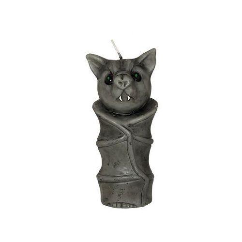 Świeczka Nietoperz na halloween - 10 cm - 1 szt. (8434077263419)