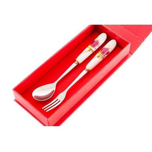 Zestaw sztućce łyżeczka i widelczyk na prezent marki Home