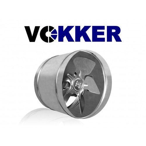 Vokker Wentylator kanałowy, osiowy, metalowy 160mm, 140m3/h (vko160)