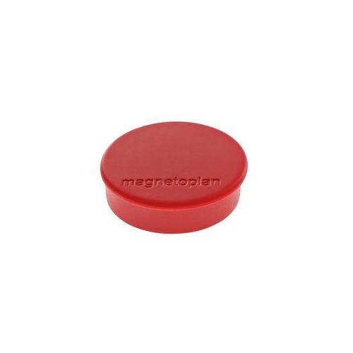 Magnetoplan Magnesy discofix hobby 0.3 kg 25 mm 10szt czerwony