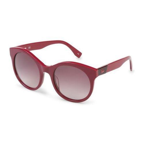 Lacoste Okulary przeciwsłoneczne damskie l851s fioletowe