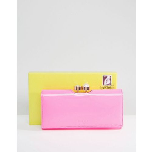 Ted baker  cecilie crystal pearl bobble matinee wallet - pink