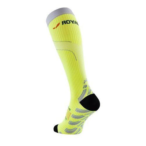 neon - podkolanówki kompresyjne (żółty) marki Royal bay