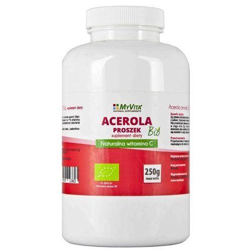 Proszek Acerola sproszkowany sok BIO (MyVita) 250g. Najniższe ceny, najlepsze promocje w sklepach, opinie.