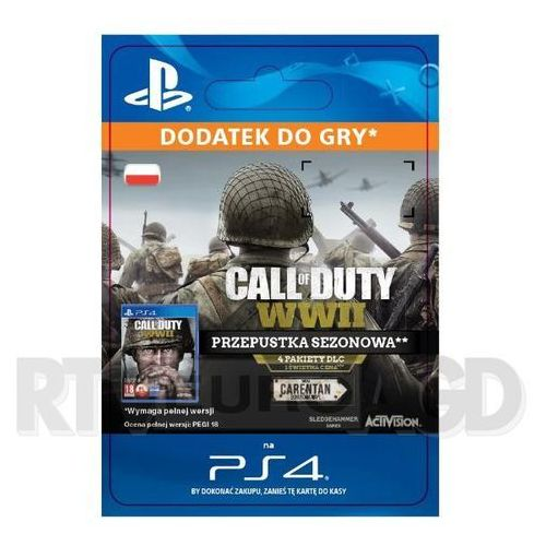 Call of duty: wwii - season pass [kod aktywacyjny] marki Sony