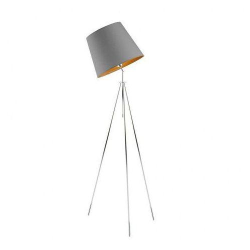 Nowoczesna lampa podłogowa do sypialni oslo gold marki Lysne
