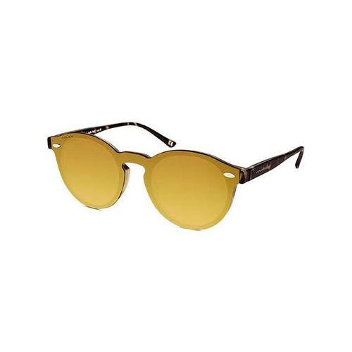 Okulary Słoneczne Polar PL TYM Clip On ized 428GOLD, kolor żółty