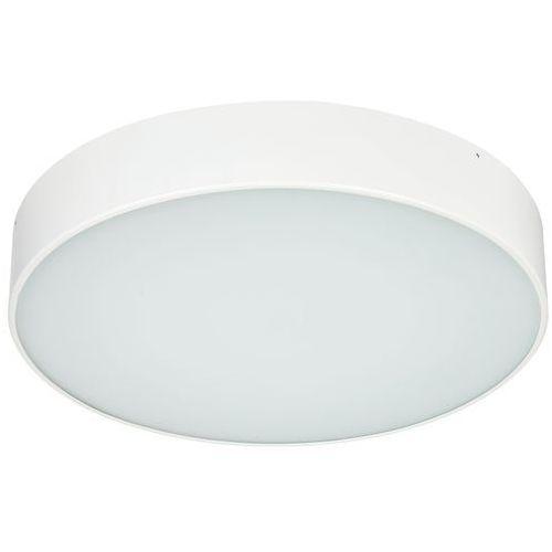 Plafon LAMPA sufitowa DISC LED 25W 30304101 Kaspa minimalistyczna OPRAWA metalowa okrągła biała (5902047301483)