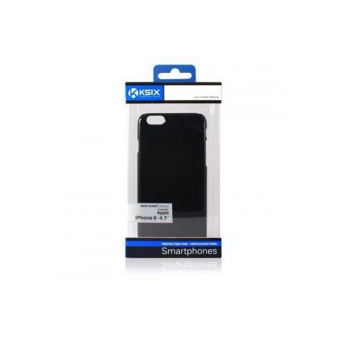 KSIX Etui HARD dedykowane do Apple iPhone 6 4.7 - czarne Odbiór osobisty w ponad 40 miastach lub kurier 24h, towar z kategorii: Futerały i pokrowce do telefonów