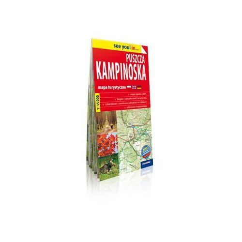 ExpressMap Puszcza Kampinoska papierowa mapa turystyczna Skala: 1:35 000, książka z ISBN: 9788375469431