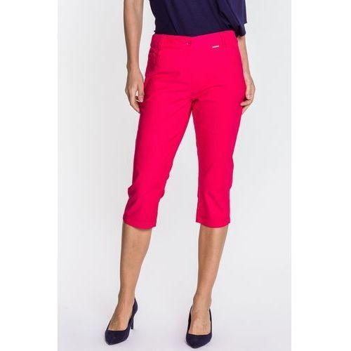 Różowe spodnie typu rybaczki - marki Lara fabio