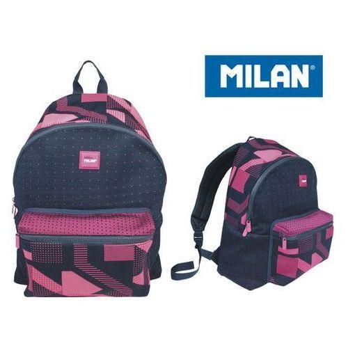 Milan Plecak duży 21 l. knit róż (8411574074366)