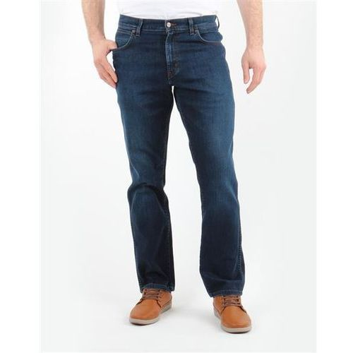 b41f0da17e279 Spodnie Męskie Wrangler 1215166E Texas Stretch CLASSIC BLUES
