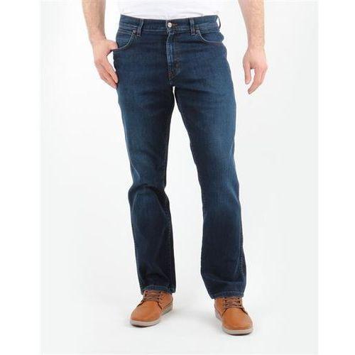 Wrangler Spodnie męskie 1215166e texas stretch classic blues
