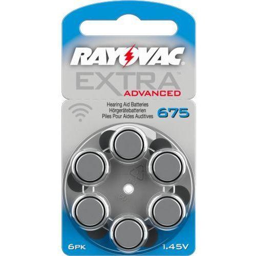 6 x baterie do aparatów słuchowych Rayovac Extra Advanced 675 MF (50240494)