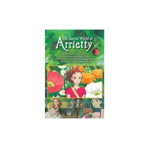 Secret World of Arrietty (Film Comic), Vol. 2 (9781421541174)