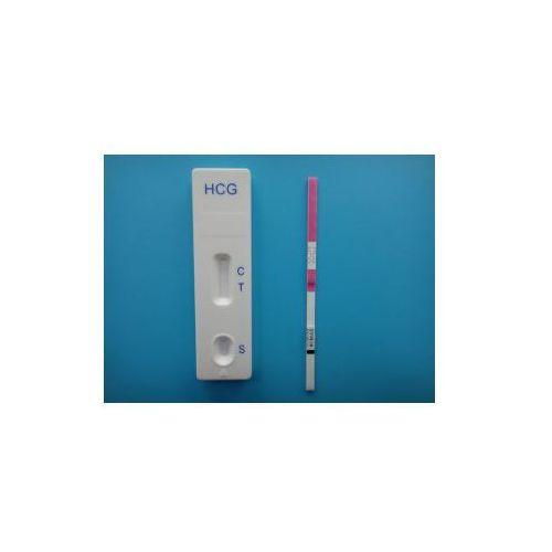 Test ciążowy babycheck - 1 strip (mocz/surowica, czułość 10 miu/ml) vd-3033 wyprodukowany przez Hydrex