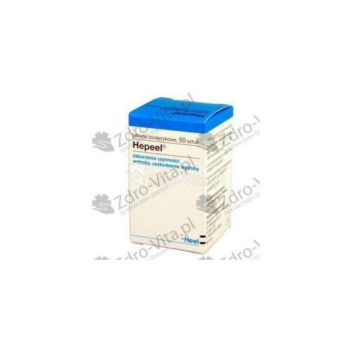 Tabletki HEEL HEPEEL N NA WĄTROBĘ, 50 TABLETEK