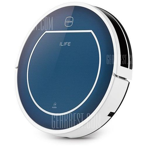 Ilife v7 super mute sweeping robot home vacuum cleaner dust cleaning with 2600mah li - battery, marki Gearbest