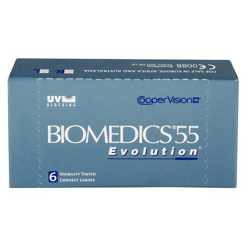 Biomedics 55 evolution - moce ujemne marki Cooper vision