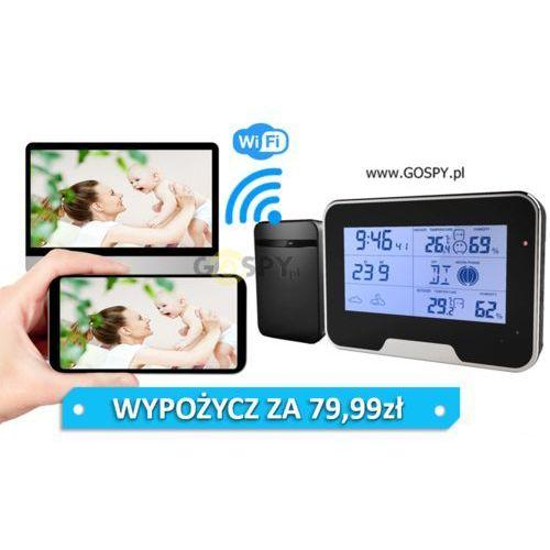 Gospy.pl Stacja pogodowa z ukrytą kamerą wi-fi full hd (ipo80)