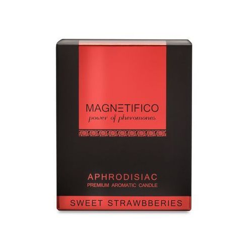 MAGNETIFICO Candle Sweet Strawberries, 4202601