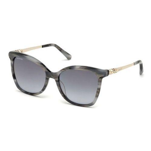 Okulary słoneczne sk0154-h 20c marki Swarovski
