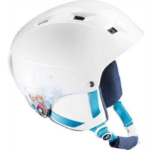 Rossignol comp j frozen biały m/l (53-56cm) niebieski 2017-2018 (3607682258872)