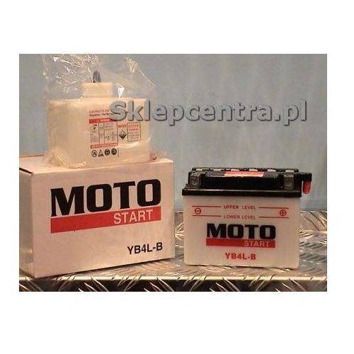 Akumulator motocyklowy Moto Start YB4L B 4Ah 56A