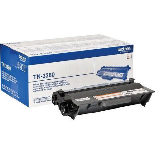 Brother oryginalny toner TN3380, black, 8000s, Brother HL-5440D, HL-5450DN, HL-5470DW, HL-6180
