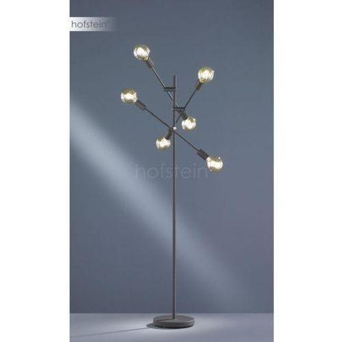 Trio cross lampa stojąca czarny, 6-punktowe - nowoczesny - obszar wewnętrzny - cross - czas dostawy: od 3-6 dni roboczych (4017807373929)