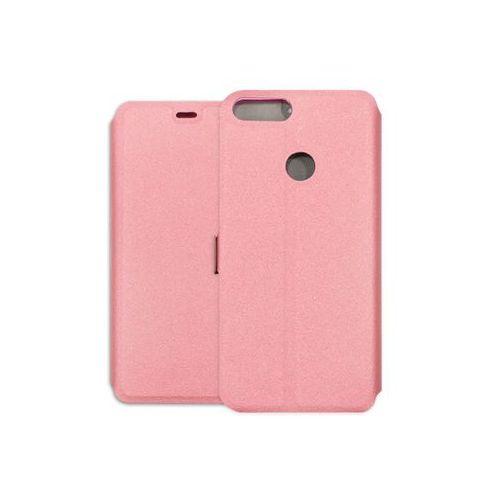 Huawei Enjoy 7S - etui na telefon Wallet Book - różowy