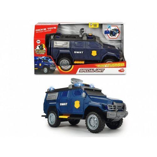 Pojazd a.s. swat jednostka specjalna marki Dickie