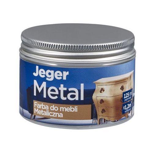Farba do mebli metal 125 ml stare złoto metaliczna marki Jeger