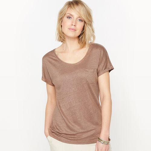 T-shirt z ekologicznego lnu