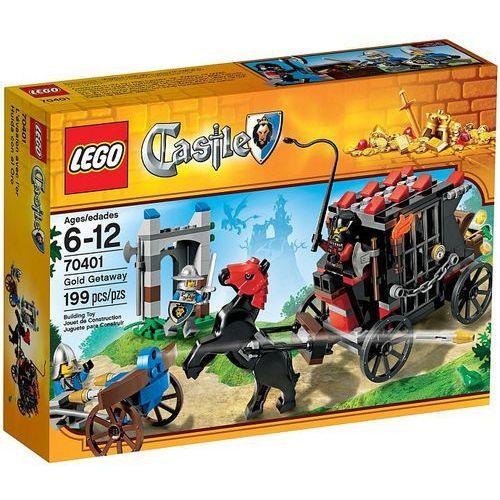 Lego CASTLE Ucieczka ze złotem 70401
